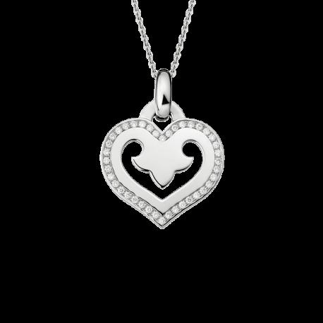 Pendentif Coeur Légendes moyen modèle