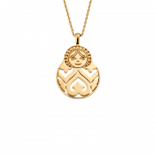 Matriochka pendant