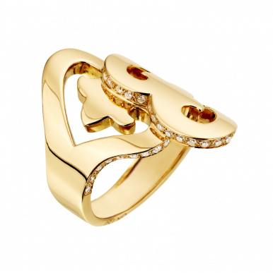 Cœur Duo ring