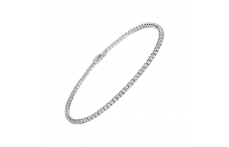 diamonds line bracelet size 1