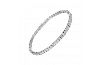 diamonds line bracelet size 2